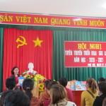 tuyên truyền giáo dục phổ thông 2018 và triển khai sách giáo khoa lớp 1 năm học 2020 -2021 của trường TH Phú Hội